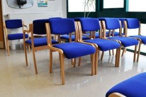 George Elliot Gum Clinic - Shepperton House - Waiting Room