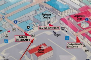 Jepherson Centre Gum Warwick - Hospital Map