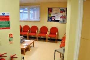 St Cross Rugby - Waiting Room